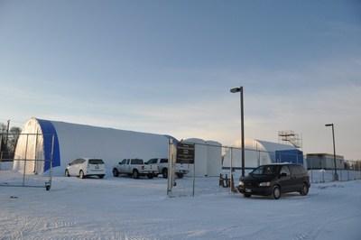 University of Manitoba's Sea-ice Environmental Facility (SERF) in Winnipeg, Canada. Photo credit Fei Wang