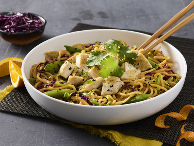 Noodles & Company introduces Grilled Orange Chicken Lo Mein to its menu and brings back guest favorite, Zucchini Shrimp Scampi.