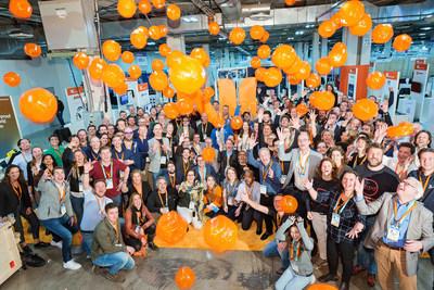 The Dutch delegation at CES Las Vegas 2020 (PRNewsfoto/Techleap.nl)