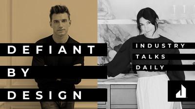 Designers Jeremiah Brent and Athena Calderone