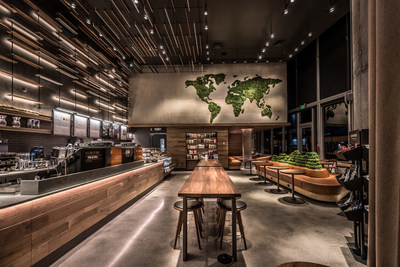 Starbucks Sustainability Commitment Greener Stores (CNW Group/Starbucks Coffee Canada)