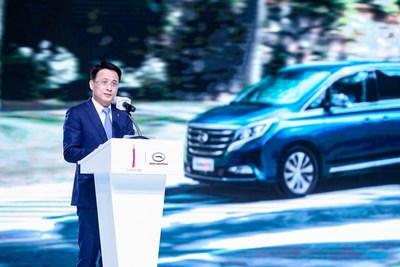 Zeng Hebin, General Manager of GAC Motor International, Introduced the GN8