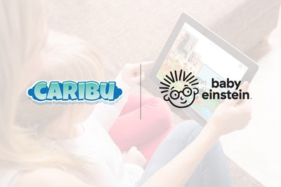 Caribu inks deal with Kids2 to bring the Baby Einstein catalog into their ever-expanding library of books and activities to be enjoyed together in a video-call.