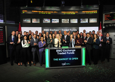 BMO Exchange Traded Funds Opens the Market (CNW Group/TMX Group Limited)