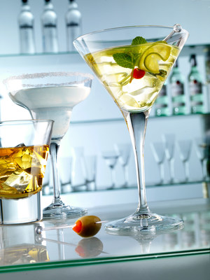 The Ypsilon Cocktail glass collection is our number one best selling barware collections. Over 16 items including stemware, tumblers, shot glasses and carafes. The stemware is produced in one piece with the bowl. This technology allows us to manufacturer product whose shapes are elegant and refined.