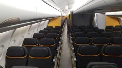 Cabin seating, premium to standard