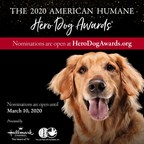 Calling All Dogs! Nominations Open Today For The 2020 American Humane Hero Dog Awards®