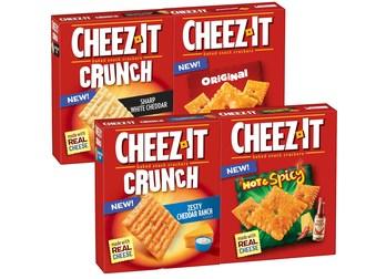 Kellogg Canada Inc. introduces Cheez-It* Baked Snack Crackers to Canada (CNW Group/Kellogg Canada Inc.)