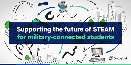 We're supporting the future of STEAM for military connected students around the globe.