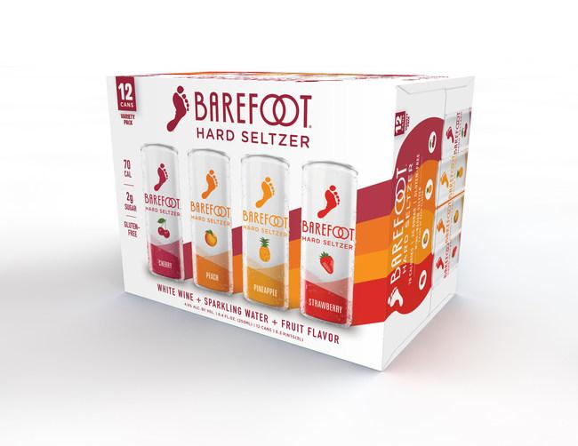 Barefoot Hard Seltzer Variety Pack