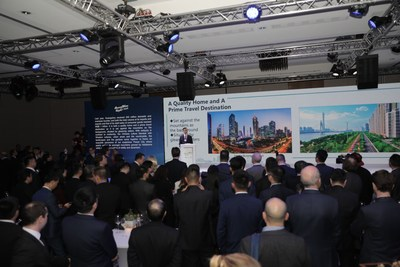 Guangzhou Night event in the World Economic Forum Annual Meeting in Davos