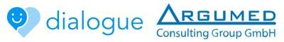Logos : Dialogue Technologies Inc. et ARGUMED (Groupe CNW/Dialogue Technologies Inc.)