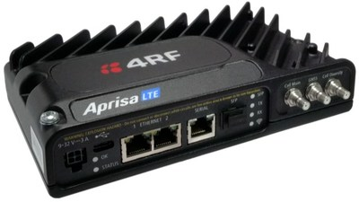 The Aprisa LTE modem router is a utility grade private network and public carrier modem and router combination for use in over 18 different bands, including Anterix B8, FirstNet B14, and CBRS.
