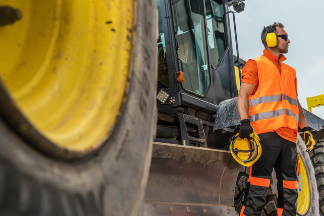 Brigade Electronics addresses noise issues in the construction industry and protecting against worker hearing loss (PRNewsfoto/Brigade Electronics)