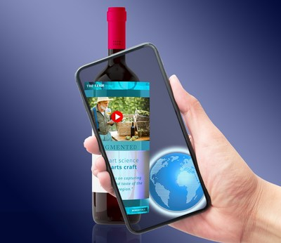 Augmented Reality Wine Labels in action - Winerytale.