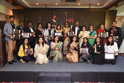 The organisers with the award winners
