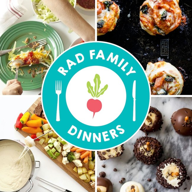 "Raddish has launched ""Rad Family Dinners""- a free, themed weekly e-newsletter that shares tips and recipes from popular recipe creators and cookbook authors - to make family meal planning and preparation approachable, easy and fun."