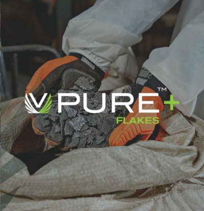 VPURE+™ Flakes (CNW Group/Largo Resources Ltd.)