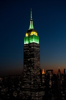 El Empire State Building celebra el Día de Australia el 26 de enero