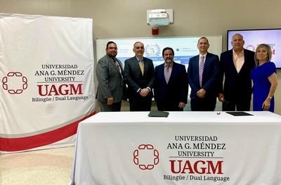 Ana G. Méndez University firma convenio de colaboración con el Colegio de Contadores Públicos Autorizados (CPA) de Puerto Rico, capítulo de Florida