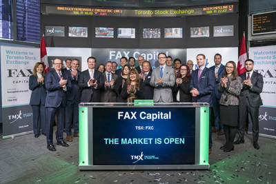 FAX Capital Corp. Opens the Market (CNW Group/TMX Group Limited)