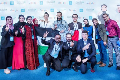 Students at the Arab Innovation Academy 2020