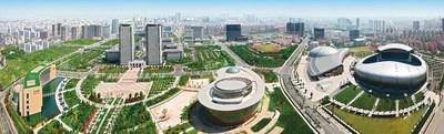 A bird's-eye view of Changzhou