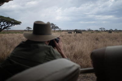 On a guided safari, Ruel observes the Big Five in their natural habitat.