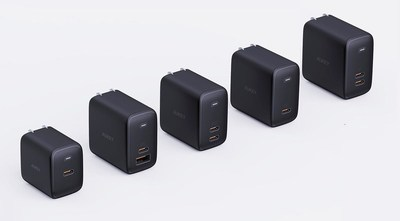 AUKEY's Omnia Chargers Shrink Charging Tech to a Whole New Level