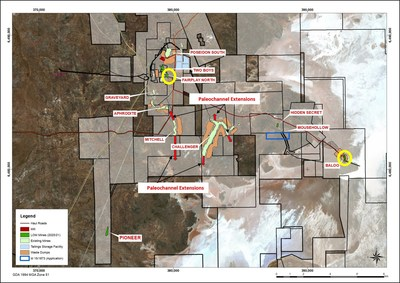 Figure 1: Plan view of HGO highlighting locations of active Baloo and Fairplay North mines. (CNW Group/RNC Minerals)