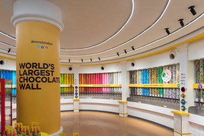 Example layout of the new M&M'S experiential stores coming to Disney Springs®, Mall of America® and Berlin.