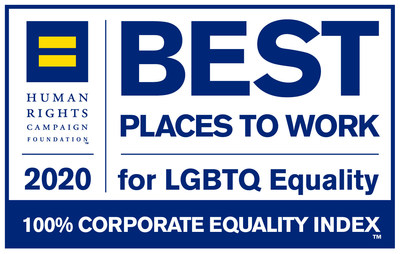Farmers Insurance earned 100% on the Human Rights Campaign Foundation's 2020 Corporate Equality Index.