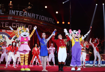 Chimelong Debuts as Monte-Carlo International Circus Festival's Strategic Partner In Monaco