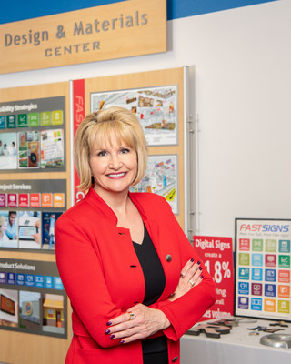 Catherine Monson, CEO and President of FASTSIGNS International, Inc.