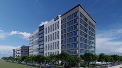Conceptual rendering of the new Marriott Vacations Worldwide global corporate headquarters.