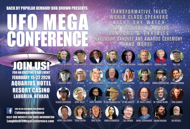 Laughlin UFO Mega Conference 2020