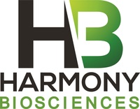 Harmony Biosciences logo (PRNewsfoto/Harmony Biosciences)