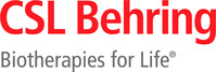 CSL Behring Logo (PRNewsfoto/CSL Behring)