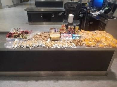Border services officers at Toronto Pearson International Airport seized prohibited goods from Asia. (CNW Group/Canada Border Services Agency)