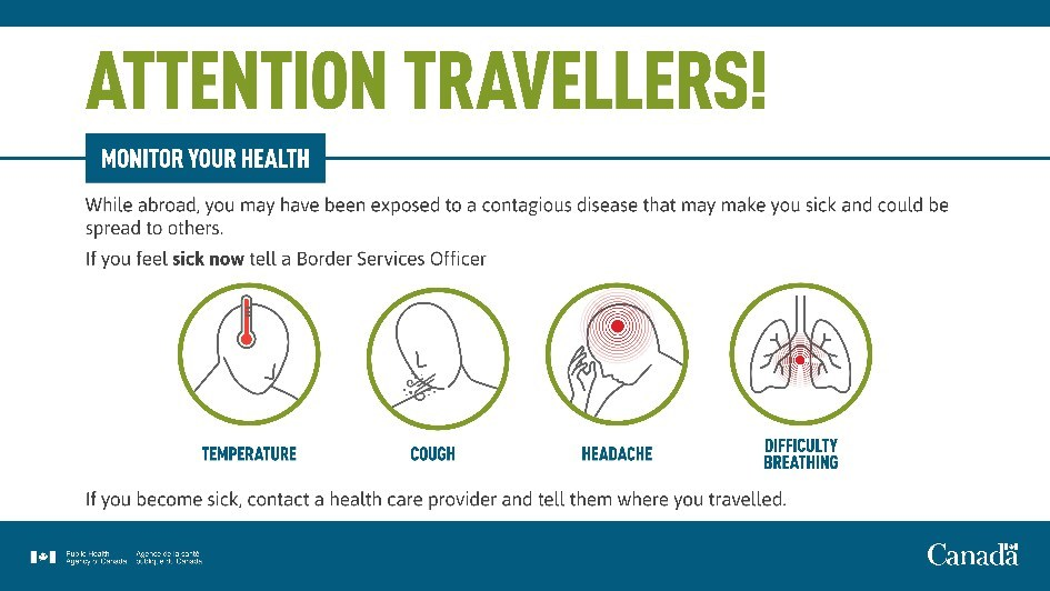 Attention Travellers! (CNW Group/Canada Border Services Agency)