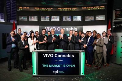 VIVO Cannabis Inc. Opens the Market (CNW Group/TMX Group Limited)