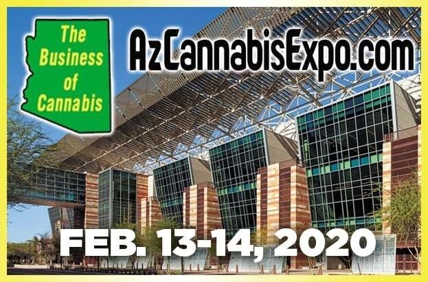 Arizona B2B Cannabusiness Expo in Phoenix on Feb. 13 - 14, 2020