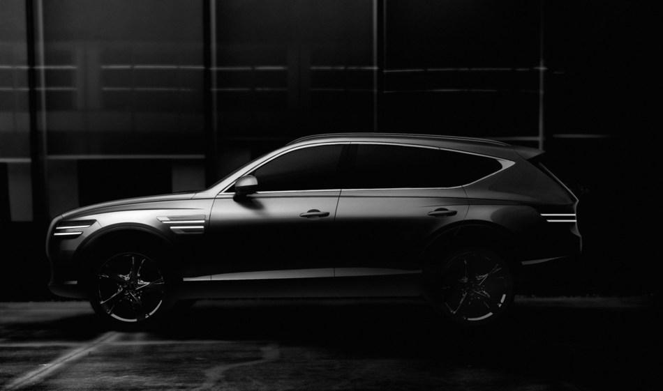 GV80 Teaser Image (CNW Group/Genesis Motors Canada)