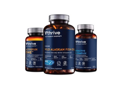 Vthrive The Vitamin Shoppe brand products feature simply clean formulas, high potencies and clinically-tested ingredients.