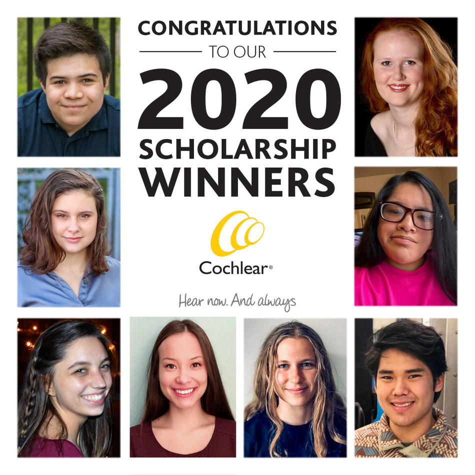 Cochlear announced today the winners of the 18th annual Graeme Clark and the ninth annual Anders Tjellström scholarships. Eight Cochlear recipients recognized for their achievements in academia, leadership and humanity with $64,000 in funding for further academic endeavors.