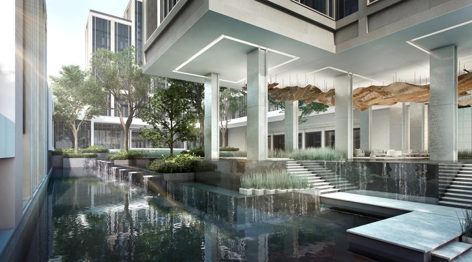 Four Seasons Hotel and Private Residences Bangkok at Chao Phraya River.