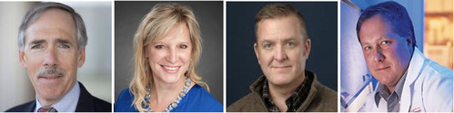 New members of Versatope Therapeutics new Scientific Advisory Board: Dr. Frederick G. Hayden, Dr. Stacey Schultz-Cherry, Dr. David Topham and Dr. Ralph Tripp.