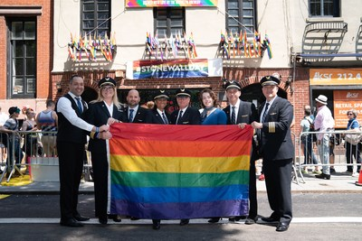 United Airlines at Pride Live's Stonewall Day, a celebration for the 50th anniversary of the 1969 Stonewall Riots