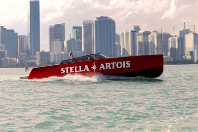 It's heating up in Miami and Stella is offering Super Bowl LIV goers and Miami locals a lift on Stella's Fleet. The branded yachts will take visitors between South Beach and Downtown Miami starting Thursday, January 30 - Saturday, February 1. Reserve your ticket to arrive in style at www.PortdeStella.com