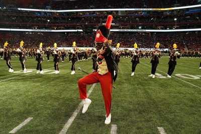 Eight HBCU marching bands performed for more than 58,000 fans at the 17th anniversary Honda Battle of the Bands Invitational Showcase.